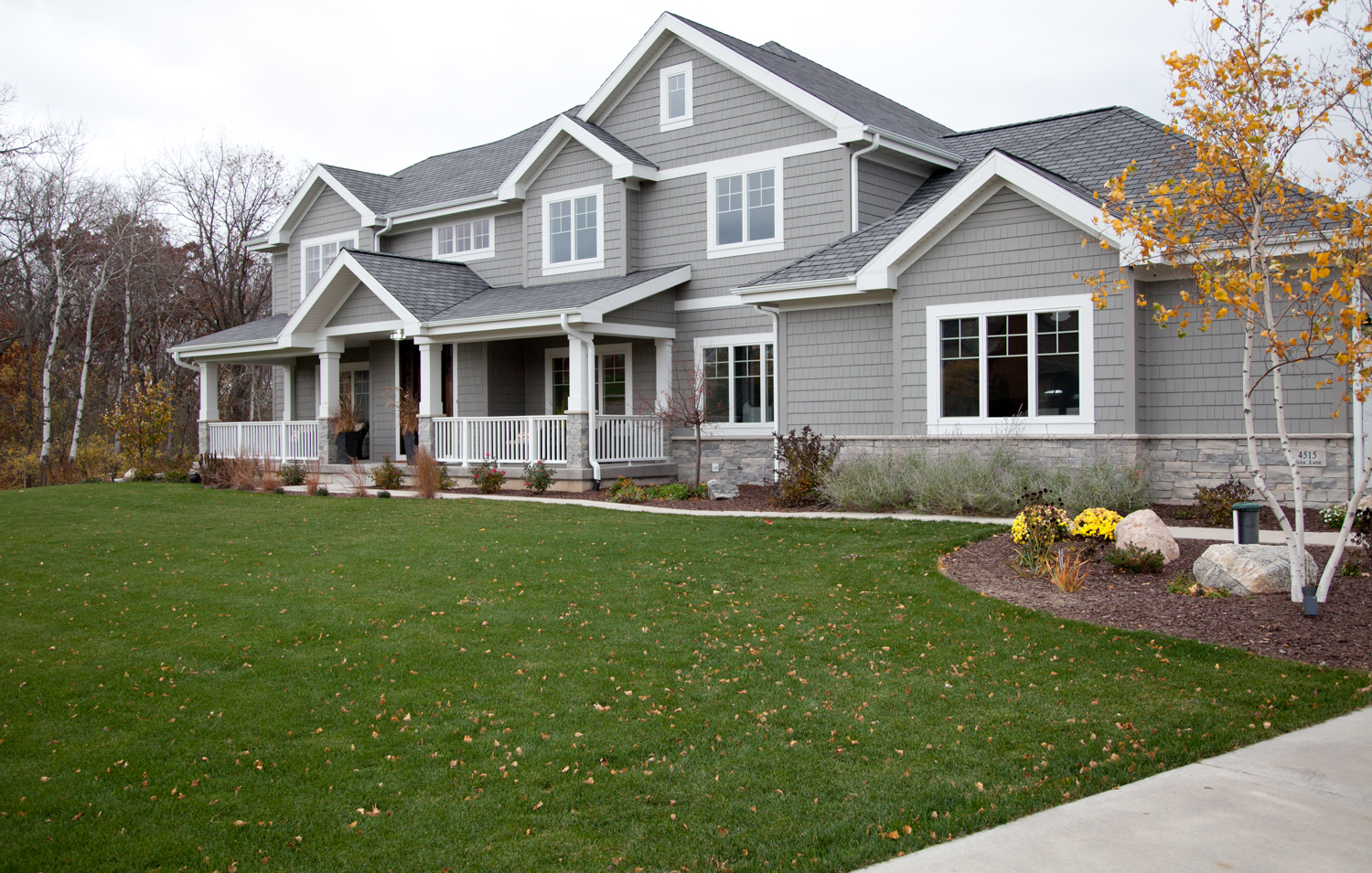 Beautiful country home exterior renovations madison for Exterior home renovations
