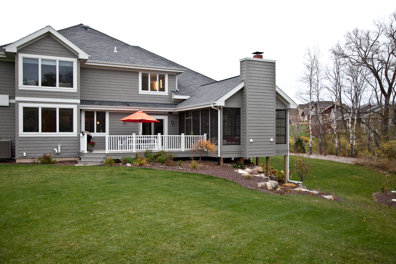 Beautiful country home exterior renovations madison for Exterior house renovation
