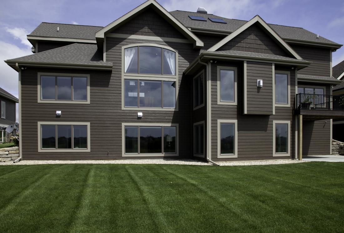 Award winning parade home exterior renovations madison for Exterior house renovation