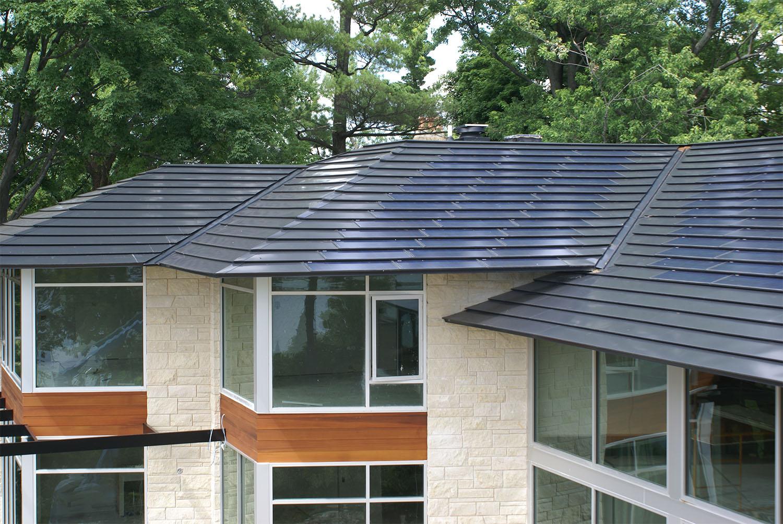 Exterior Renovations Solar Shingles