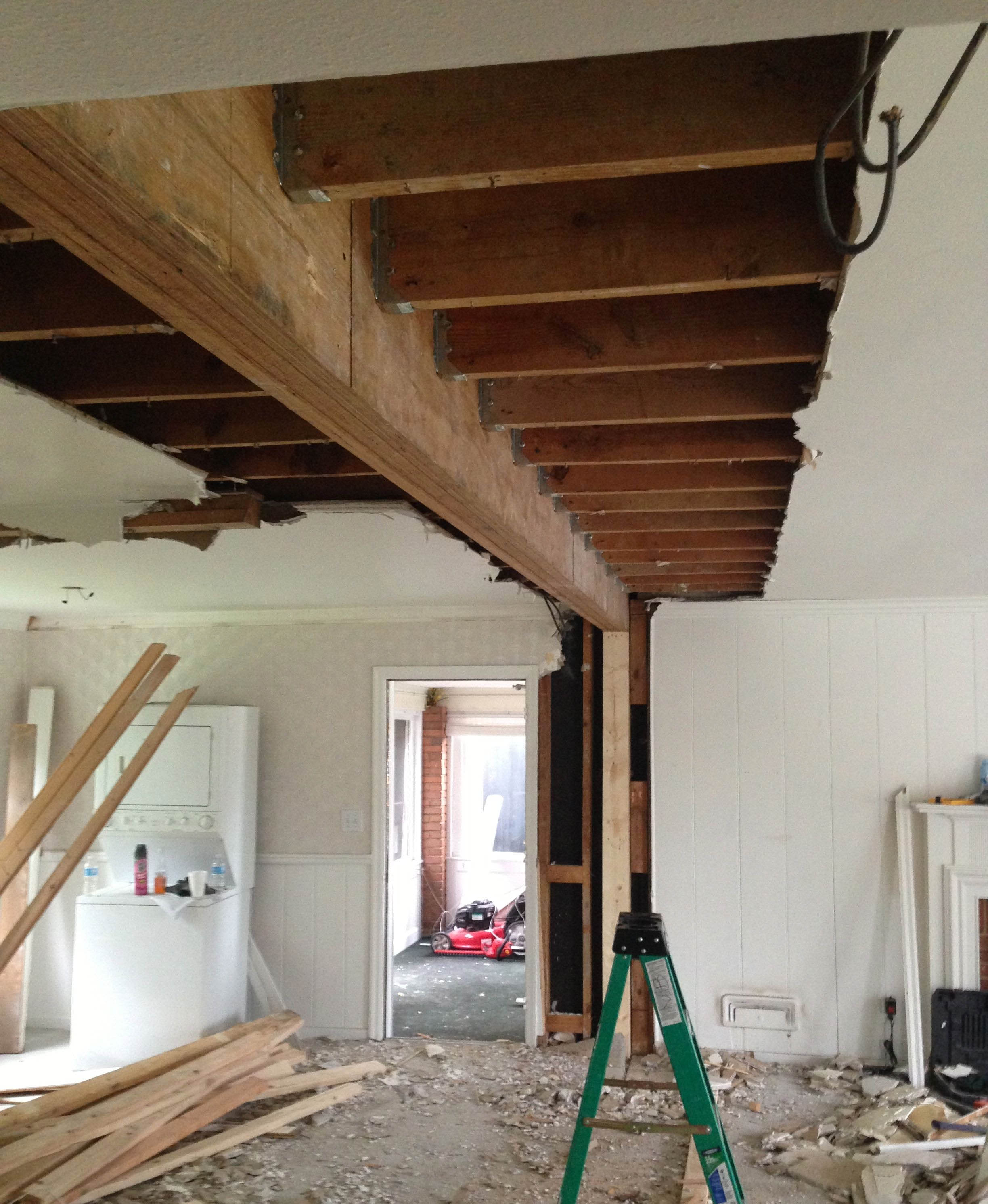 LVL beams  The easy way to open up any room  - Exterior